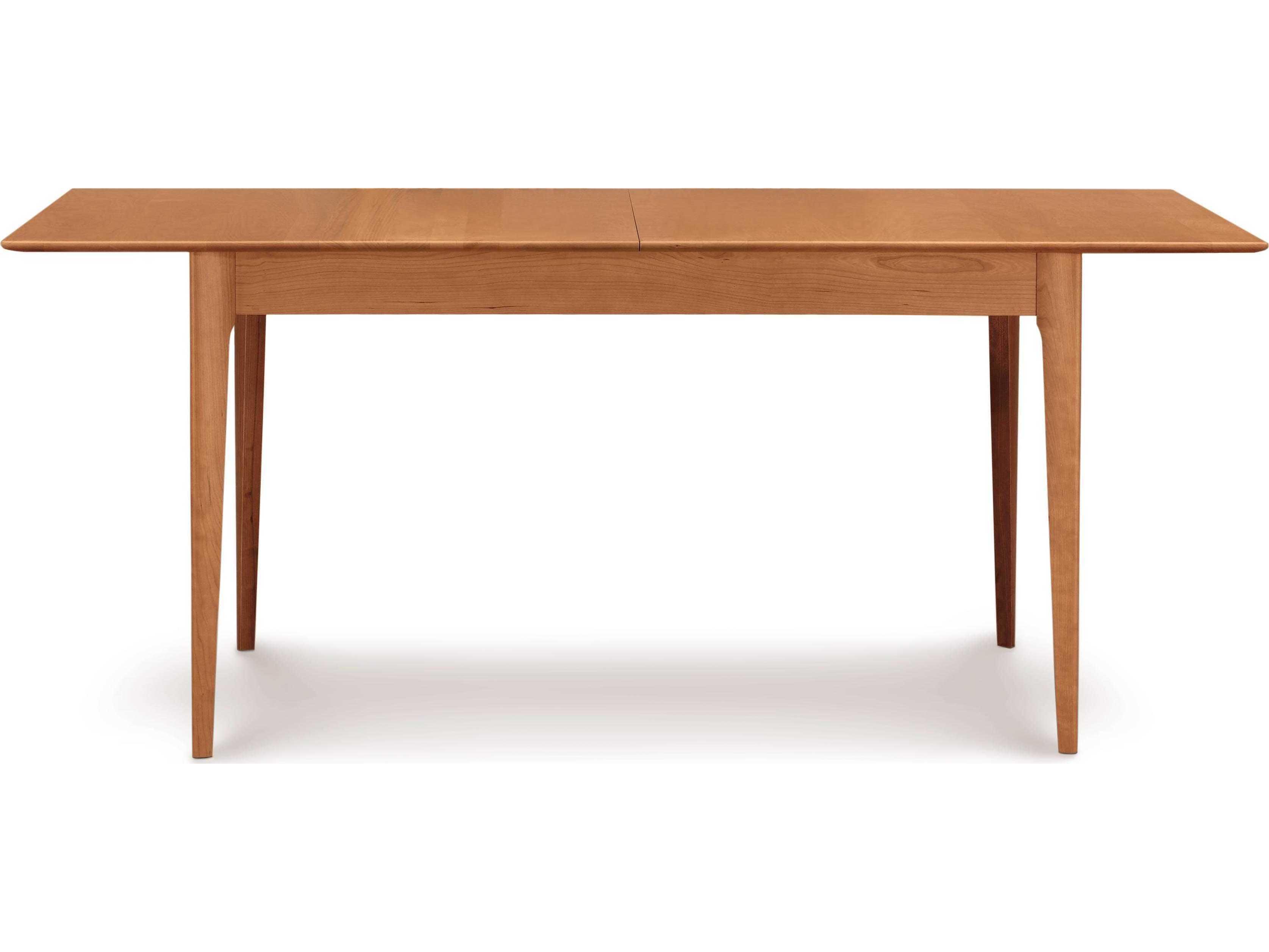Copeland Furniture Sarah 66 90 W X 42 D Rectangular Extension Dining Table
