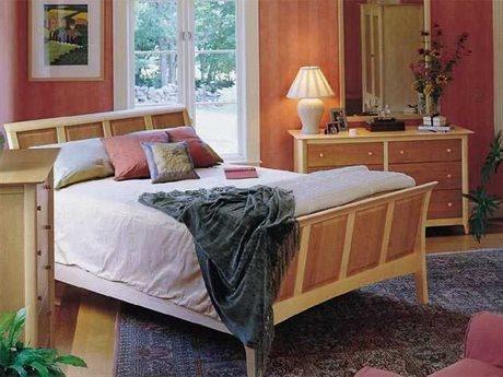 Copeland Furniture Sarah Bedroom Set CF1SLM14SET