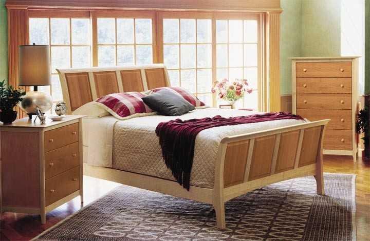 Copeland Furniture Sarah Bedroom Set Cf1slv14set