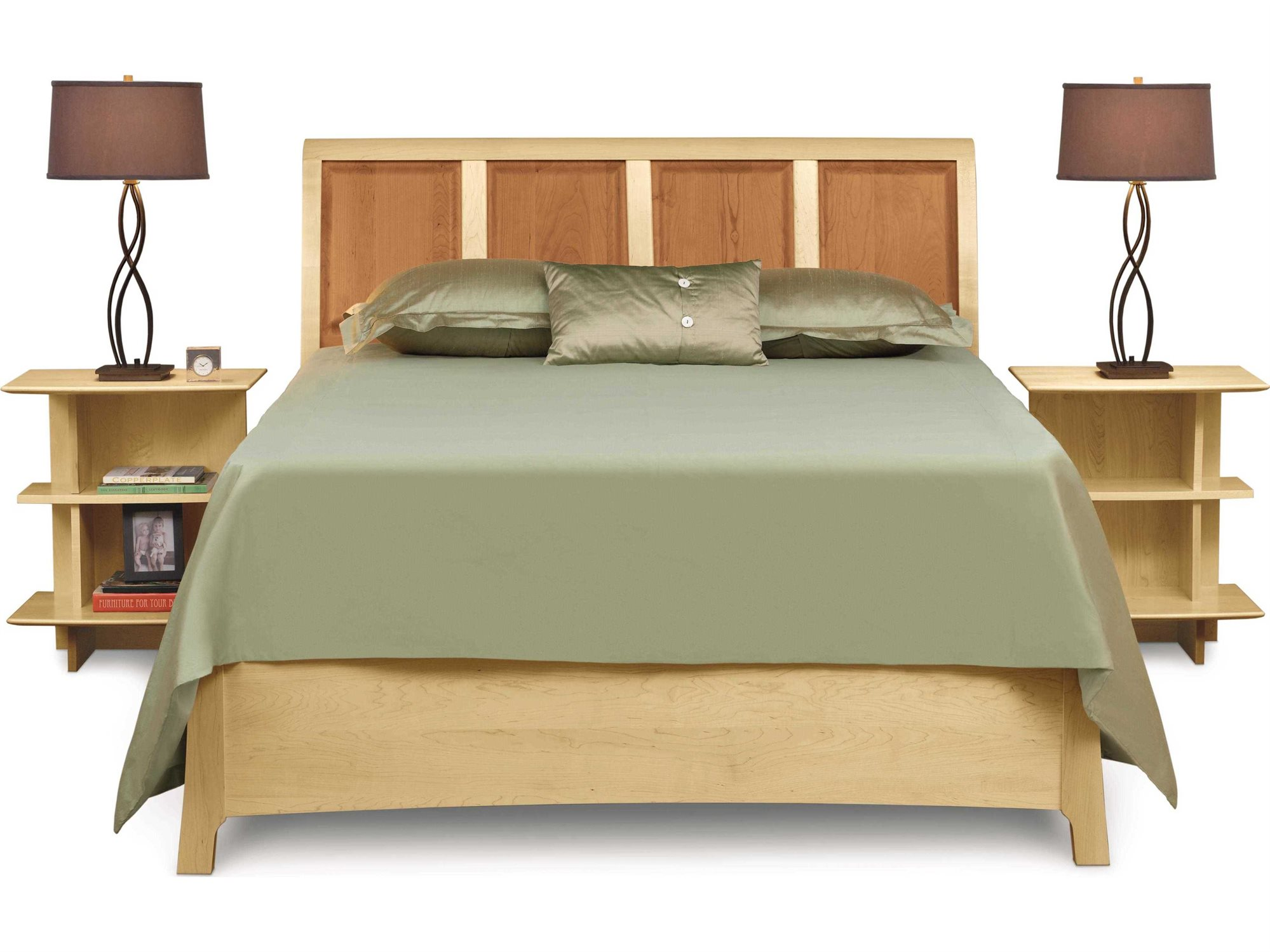 Copeland Furniture Sarah Sleigh Bed With Storage