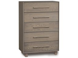 Sloane 34''W x 18''D Rectangular Five-Drawer Wide Chest of Drawers