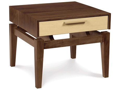 Copeland Furniture Soho 20'' Wide Square One-Drawer Nightstand