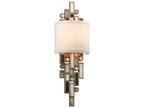 Corbett Lighting Dolcetti Dolcetti Silver 6'' Wide Wall Sconce CT15011