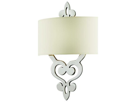 Corbett Lighting Olivia Polished Nickel Two-Light 13'' Wide Incandescent Wall Sconce CT10212