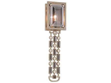 Corbett Lighting Paparazzi Silver Leaf 5'' Wide Wall Sconce CT14712