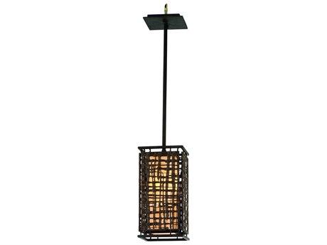 Corbett Lighting Shoji Bonsai Bronze 6'' Wide Mini-Pendant Light CT10541