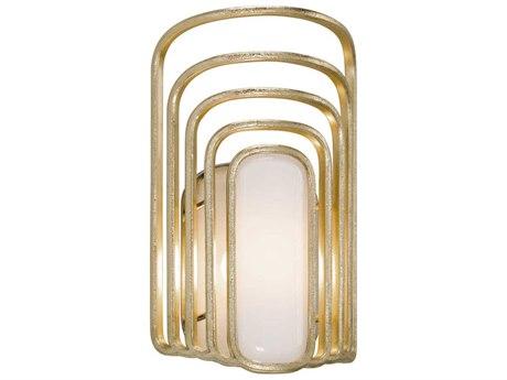 Corbett Lighting Socialite Gold Leaf 8'' Wide LED Wall Sconce