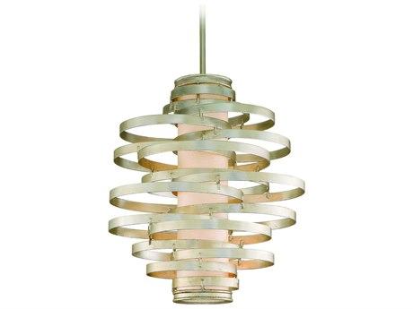 Corbett Lighting Vertigo Modern Silver Three-Light 23'' Wide Pendant Light CT12843
