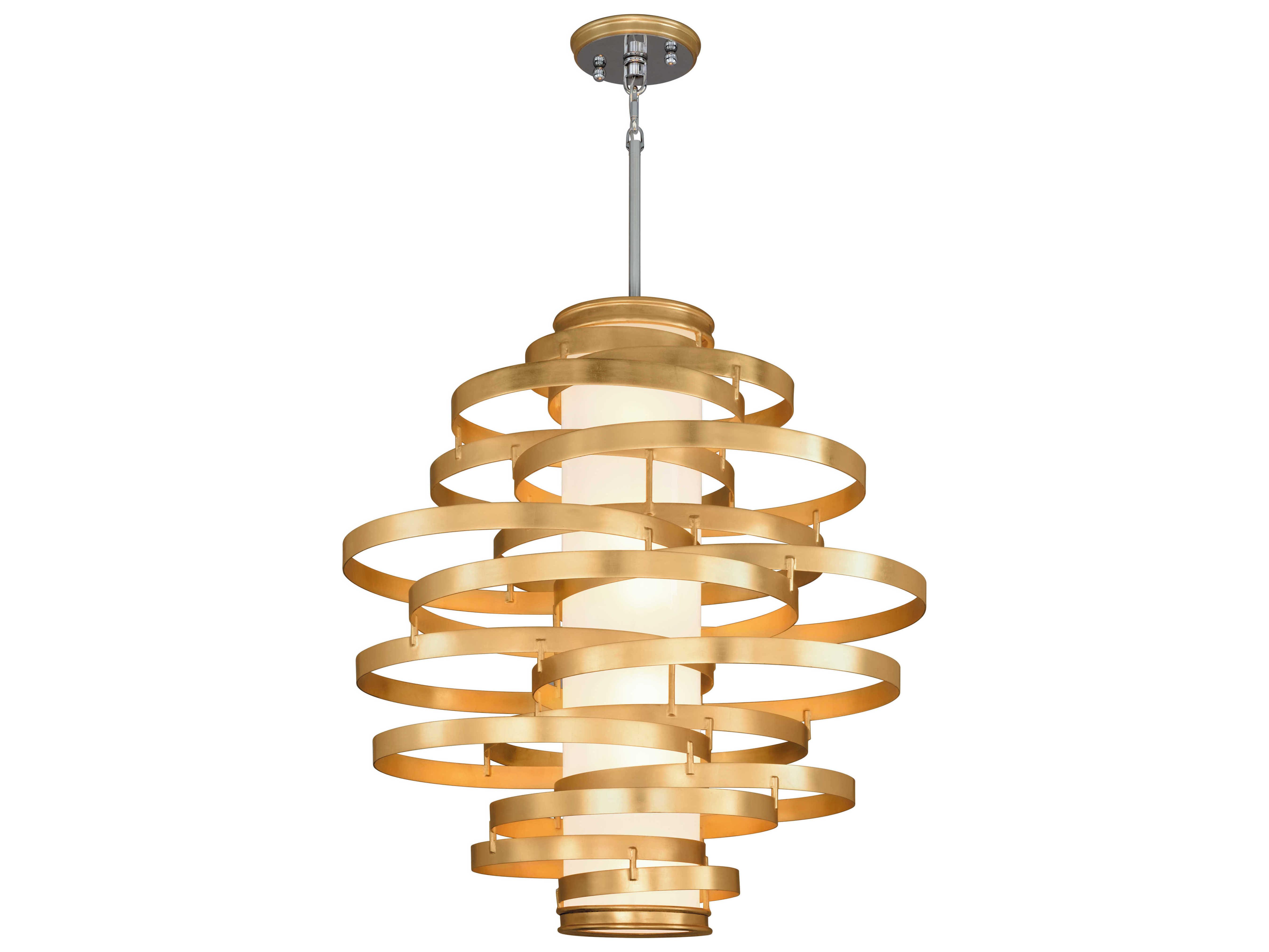 Corbett Lighting Vertigo Gold Leaf
