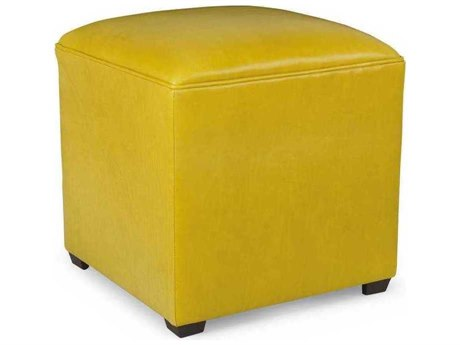 CR Laine Masquerade Leather Ottoman CRLL20