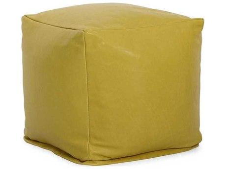 CR Laine Pod Leather Round Bean Bag