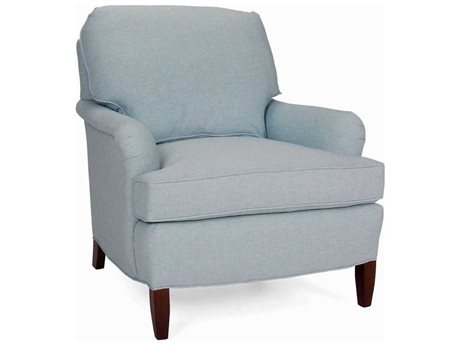 CR Laine Scout Accent Chair with Semi Attached Edge Back CRL176