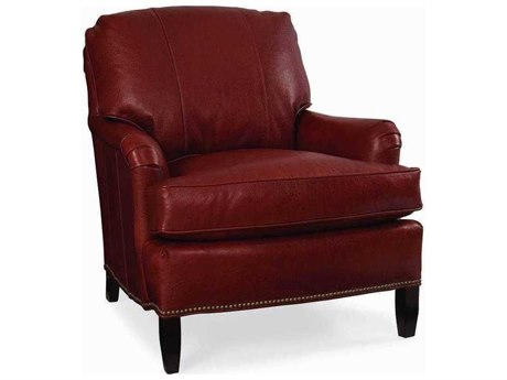 CR Laine Scout Accent Chair with Semi Attached Edge Back CRLL176