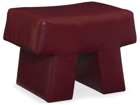 CR Laine Stonehenge Leather Ottoman CRLL13