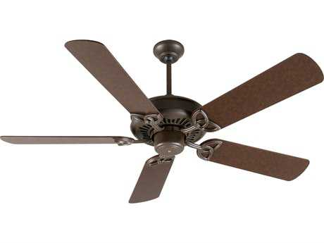 Craftmade American Tradition Aged Bronze Textured 52 Inch Wide Ceiling Fan with Plus Series Blades in Aged Bronze