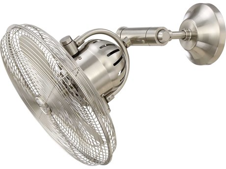 Craftmade Bellows Iv Stainless Steel Wall Fan CMBW414BNK3