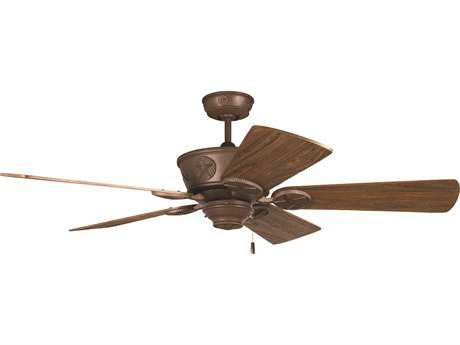 Craftmade Chaparral Aged Bronze Textured 52'' Blade Indoor Ceiling Fan
