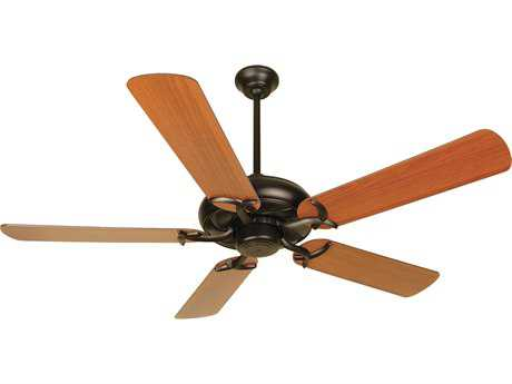 Craftmade Civic Oiled Bronze 52 Inch Wide Ceiling Fan with Plus Series Blades in Reversible Cherry/Rosewood