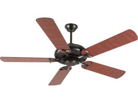 Craftmade Civic Oiled Bronze 52 Inch Wide Ceiling Fan with Plus Series Blades in Rosewood
