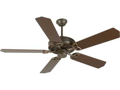 Craftmade CXL Aged Bronze Textured 52 Inch Wide Ceiling Fan with Standard Blades in Aged Bronze