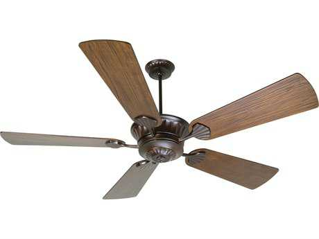 Craftmade DC Epic Oiled Bronze 70 Inch Wide Ceiling Fan with Premier Blades in Hand-Scraped Walnut