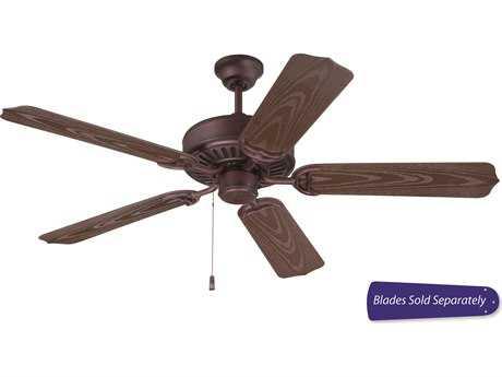 Craftmade Outdoor Patio Brown Two-Light Ourdoor Ceiling Fan CMOPXL52BR