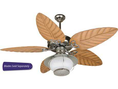 Craftmade Outdoor Patio Galvanized Two-Light Ourdoor Ceiling Fan CMOPXL52GV