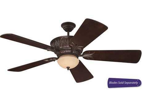 Craftmade Pavilion Aged Bronze Textured Two-Light Ceiling Fan