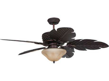Craftmade Ellington Pineapple Aged Bronze 52'' Blade Indoor Ceiling Fan CMPAP52ABZ5RCDI