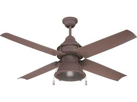 Craftmade Port Arbor Rustic Iron One-Light 52 Inch Wide Ceiling Fan CMPAR52RI4