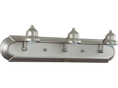 Craftmade Jeremiah Racetrack Three-Light Vanity Light in Brushed Satin Nickel CM11724BN3