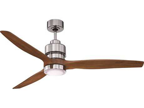 Craftmade Sonnet Chrome 52'' Blade Indoor Ceiling Fan with LED Light Kit CMK11256