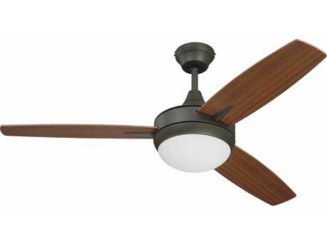 Craftmade Targas Espresso 48'' Blade Indoor Ceiling Fan with LED Light Kit CMTG48ESP3