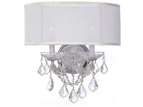 Crystorama Brentwood Two-Light Wall Sconce CRY4482