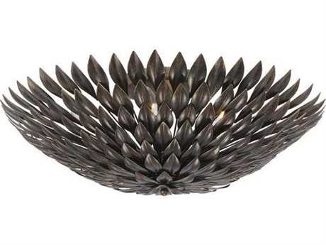 Crystorama Broche Six-Light Flush Mount Light CRY507