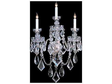 Crystorama Traditional Crystal Three-Light Vanity Light CRY1043