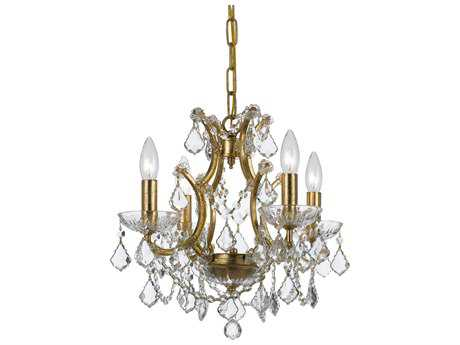 Crystorama Filmore Four-Light 17'' Wide Chandelier CRY4454
