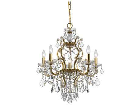Crystorama Filmore Six-Light 23'' Wide Chandelier CRY4455