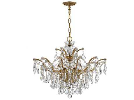 Crystorama Filmore Six-Light 27'' Wide Chandelier CRY4459