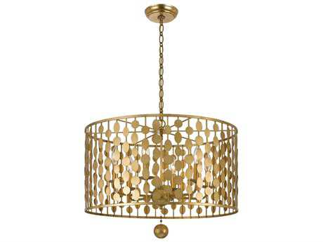 Crystorama Layla Six-Light 23'' Wide Chandelier CRY546