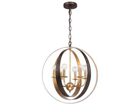 Crystorama Luna 21L x 21 Wide Medium Chandelier