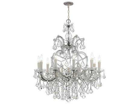 Crystorama Maria Theresa Ten-Light 29'' Wide Chandelier