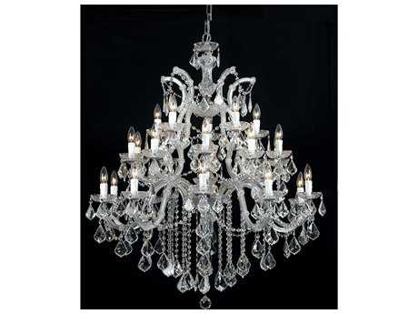 Crystorama Maria Theresa 26-Light 38'' Wide Grand Chandelier CRY4470