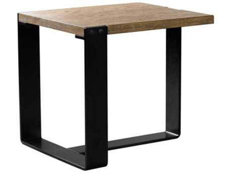 Curations Limited Bern Natural Oak Side Table CLD88331020