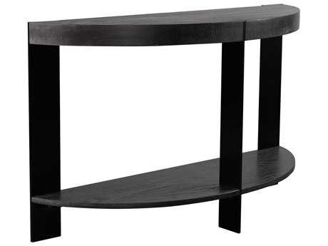 Curations Limited Geneva Vintage Black Console Table CLD88330023