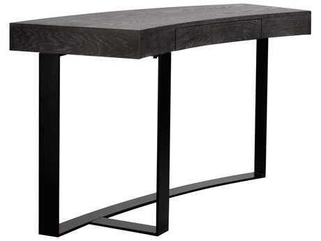 Curations Limited Geneva Vintage Black Desk CLD88340008