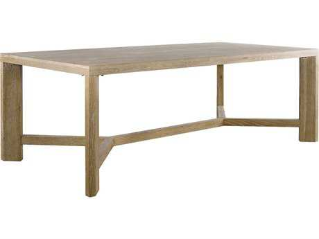 Curations Limited Grenoble Weathered Natural Oak Dining
