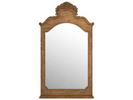 Curations Limited Istres Natural Oak Mirror CLD91001180