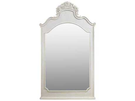 Curations Limited Istres Vintage White Oak Mirror CLD91002180