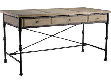 Curations Limited Luzern Natural Oak Desk CLD88340004